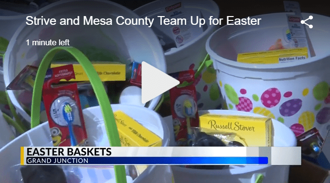 Mesa County Provides Easter Baskets