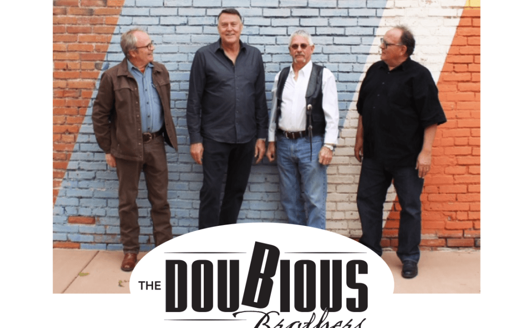 Doubious Brothers June 18th from 7 to 9 pm at The Western Colorado Botanical Gardens Kicks off the Garden Groove Summer Concert Series for 2021