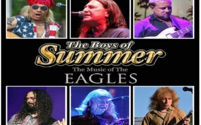 Eagles Tribute Band- The BOYS OF SUMMER Friday, July 30th from 7-9 p.m. Garden Groove Concert