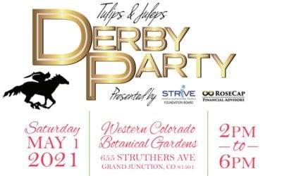 STRiVE says THANK YOU to the Sponsors of the 2021 Tulips & Juleps Derby Party.