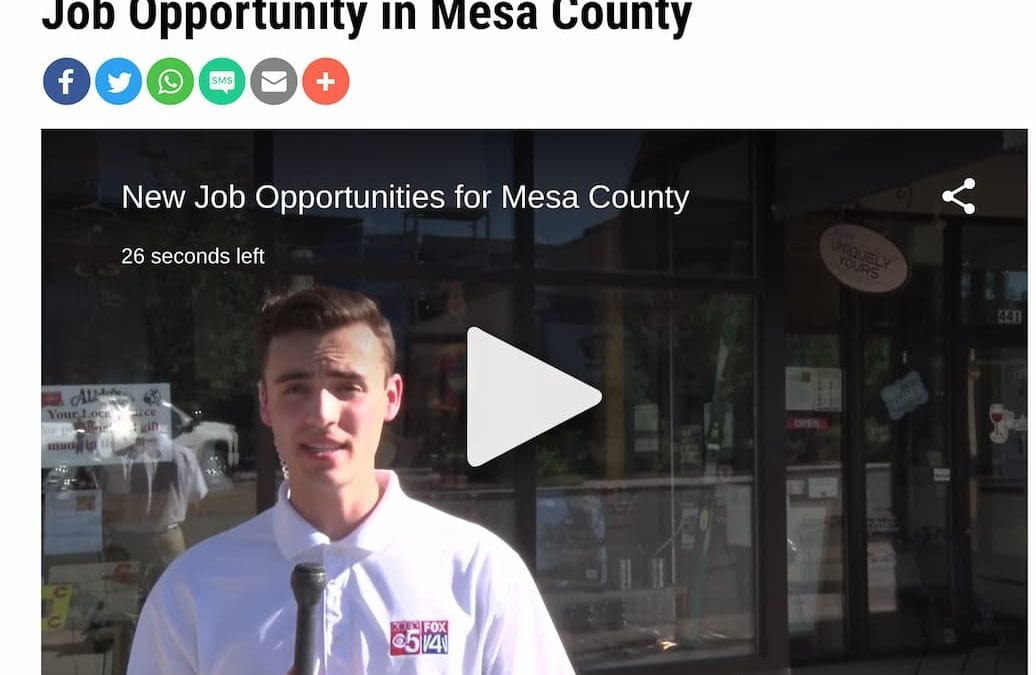 New Job Opportunity in Mesa County with STRiVE