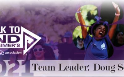 STRiVE is participating in the Walk to End Alzheimer's