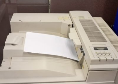 We Recycle copiers, xerox machines and office equipment