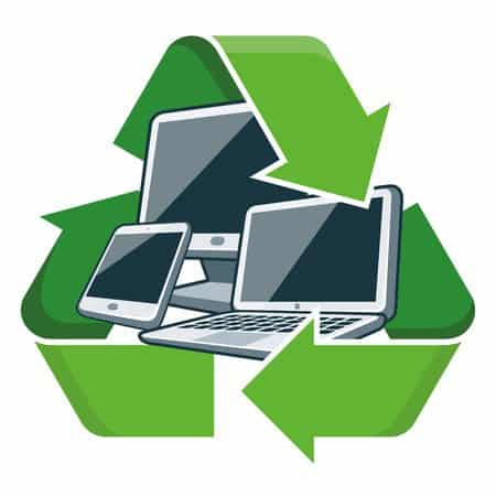 Thank you for Recycling Electronics with CORRecycling, Inc.
