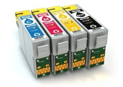 Toner and cmyk cartridges for inkjet printers and Copy machines.