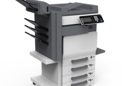 CORRecycling, Inc Recycles office multifunction printer