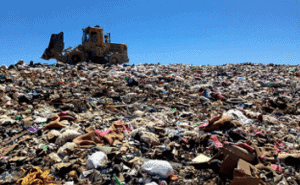 No visible e-waste in the Mesa County Landfill
