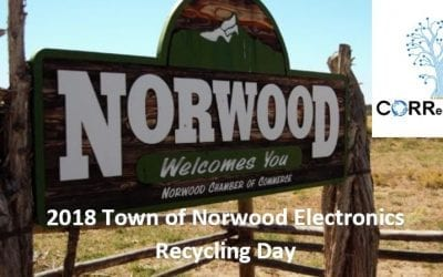 2018 Town of Norwood Household Hazardous Waste & EWaste Recycling Event